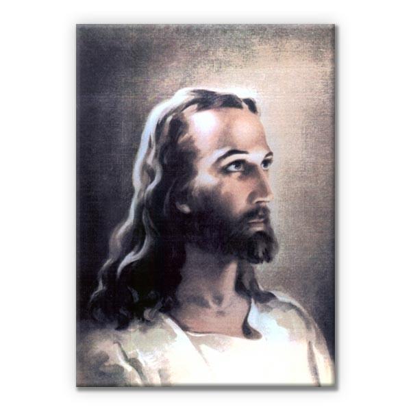 Leinwandbild Vater Jesus 30x20cm