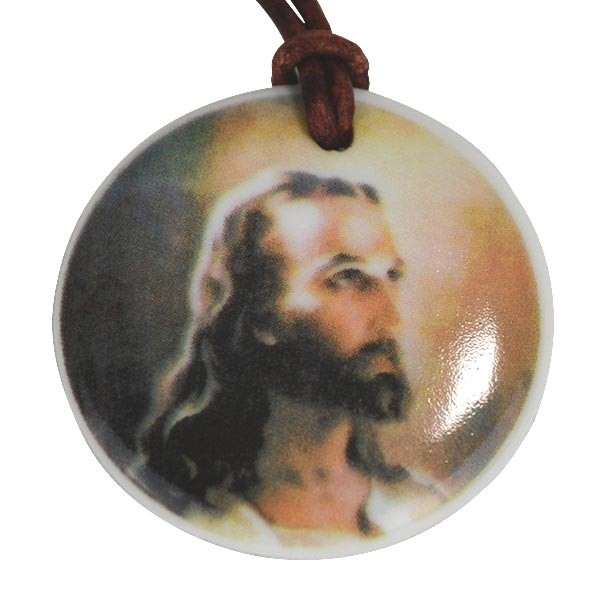 Porzellan-Anhänger Vater Jesus